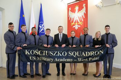 Kadeci z West Point u Prezydenta
